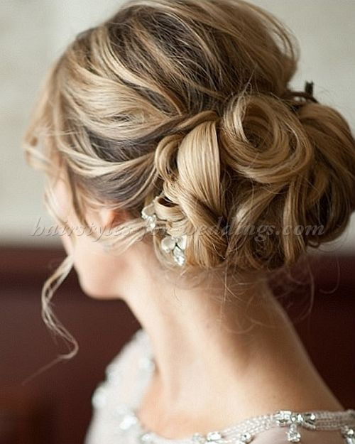 Best 25+ Chignon Wedding Ideas On Pinterest