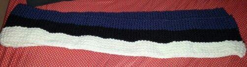 Écharpe adulte drapeau estonie