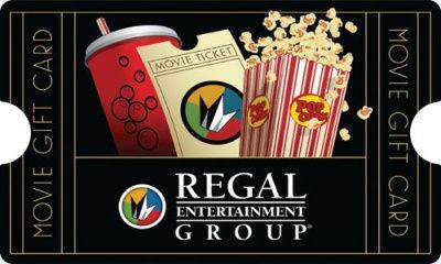 $50 Regal Entertainment Group Gift Card for $40 #movies