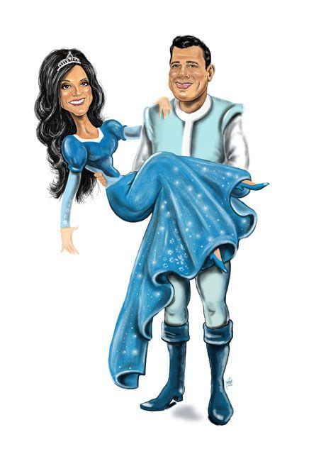 caricature sposi per Tableau the Mariage. Eseguita in arte digitale.  #digitalart #caricature #weddingcaricature #caricaturesposi #tableau #partcipazionispiritose #caricaturemurielp #murielperondi