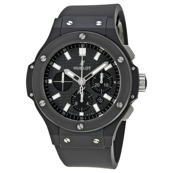 Hublot Men's 301.CI.1770.RX 'Big Bang Evolution Magic' Chronograph Automatic Carbonfiber