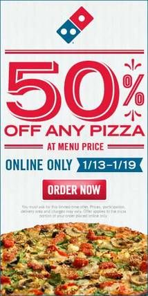 Domino's Pizza Offers