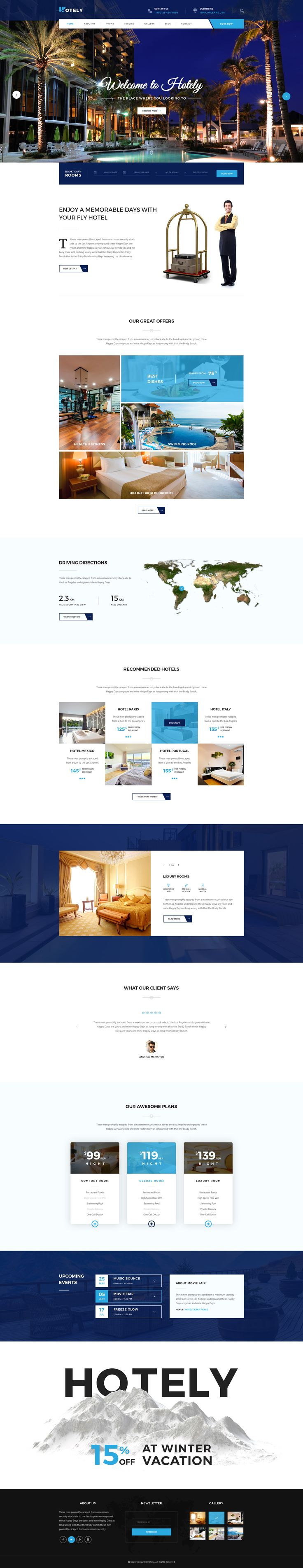 Hotely Hotel Booking & Travel PSD Template - Download theme here : http://themeforest.net/item/hotely-hotel-booking-travel-psd-template/16143680?ref=pxcr