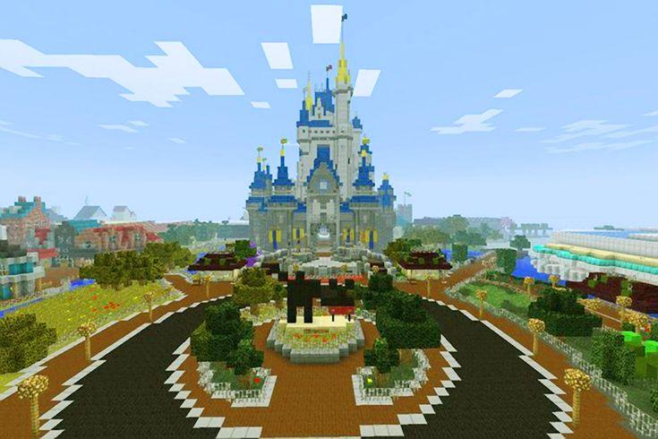 Minecraft Disneyland