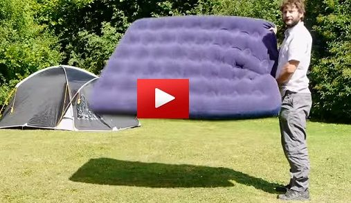 You and your friends are going to love this tip! How to blow up your air bed if you haven't got a pump. Simple solution which doesn't leave you out of breath. Ideal for camping. Did you know about ...