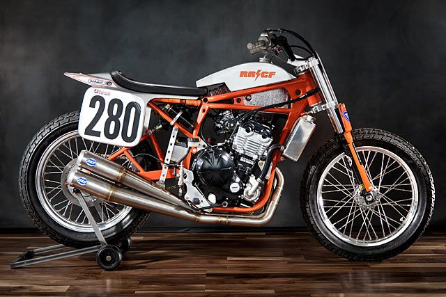 It's 2017 and I find myself in a dilemma involvinglack of time and money. Questioning how we would buildour next custom as well as a new bike to race in the American Flat Track series, a decision was made to kill two birds with one stone. Why not build a custom worthy of the race track and a race bike worthy of being a custom piece of two-wheel art? Why not, indeed!