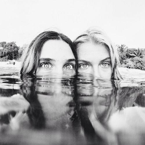 Eyes | Water | Fiends | Girls | Photography | Ideas
