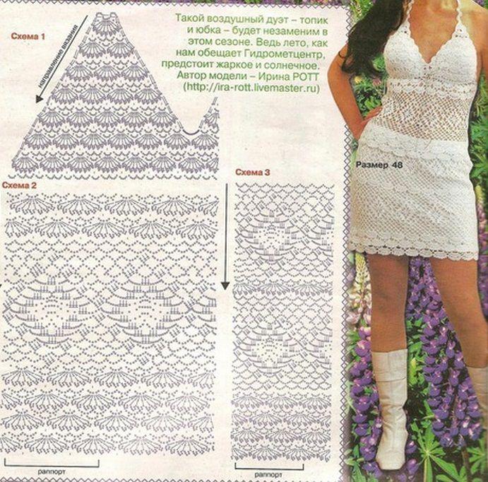 Mejores 17 imágenes de Rosalinda en Pinterest | Faldas de ganchillo ...