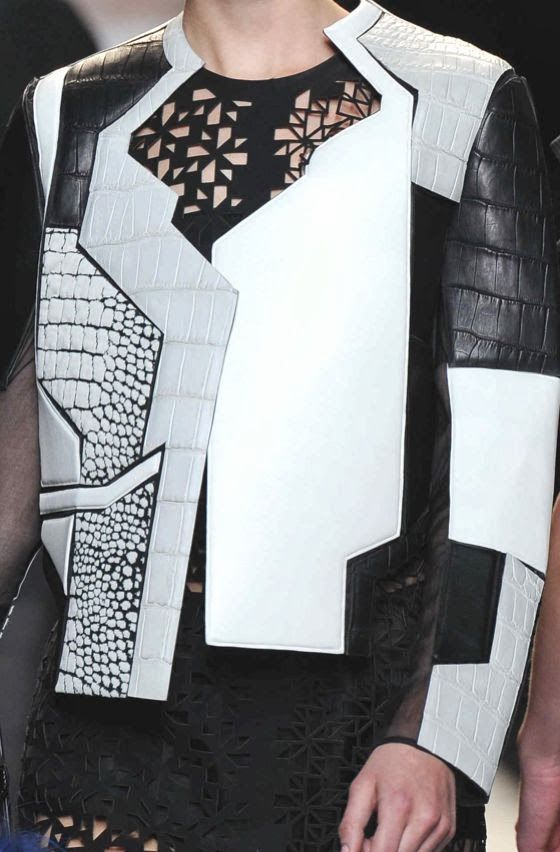 patternprints journal: PRINTS, PATTERNS AND DETAILS FROM S/S 14 WOMENSWEAR COLLECTIONS, MILAN FASHION WEEK / 9
