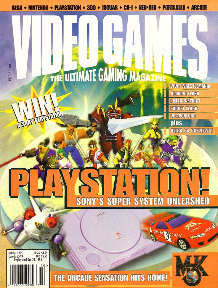Video Games - The Ultimate Gaming Magazine #retro #gaming #magazines