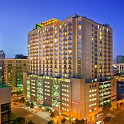 The San Diego Marriott Gaslamp Quarter hotel is conveniently located in the heart of downtown San Diego and just two blocks from the San Diego Convention Center. #SanDiego