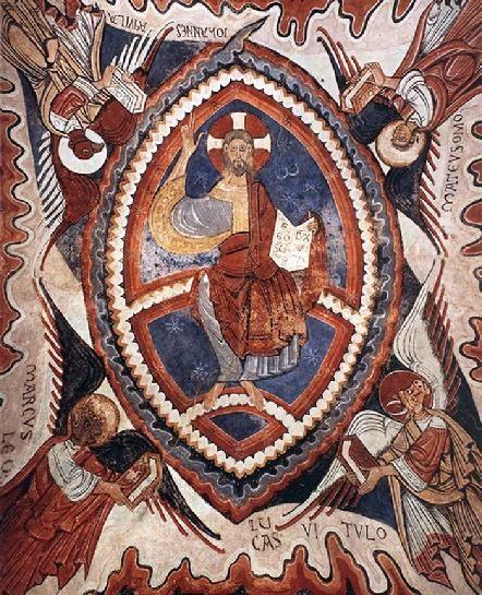 Romanesque jesus google search romanesque images of for Artiste peintre catalan