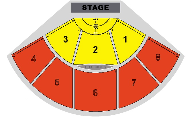 Seating chart for pacific amphitheatre many have their tickets
