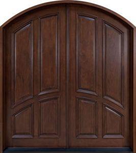 Large Wooden Double Doors
