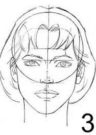Image result for human face sketching tutorial