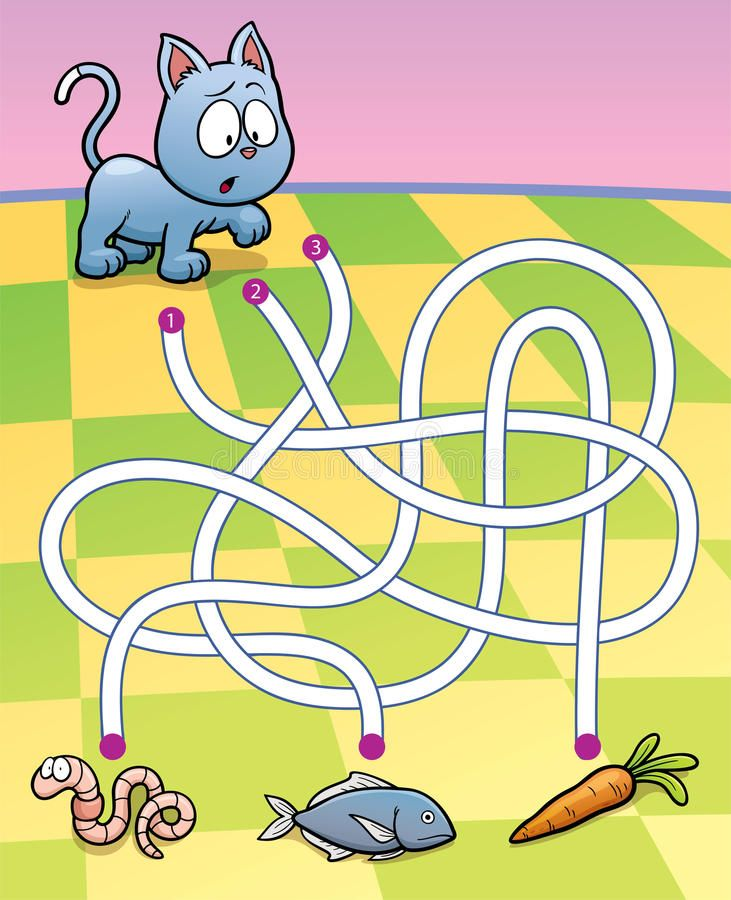 Education maze game stock illustration in 2020 mazes for