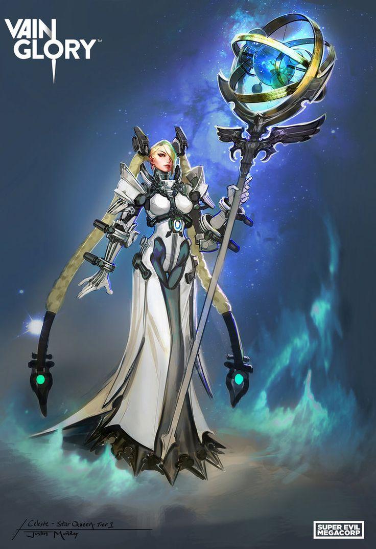 Star Queen Celeste by Raggedy-Annedroid on DeviantArt