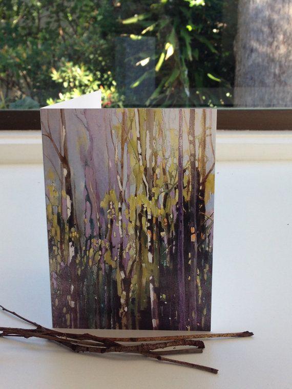 Blank  Cardgreeting cardAustralian Landscape Print Of