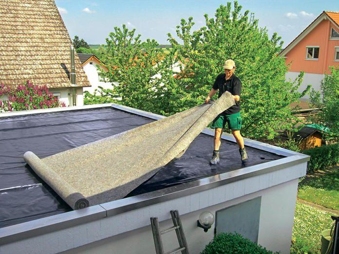 Dachbegrunung Anlage Pflege Und Kosten Mit Bildern Dachbegrunung Garage Dach Architektur Haus