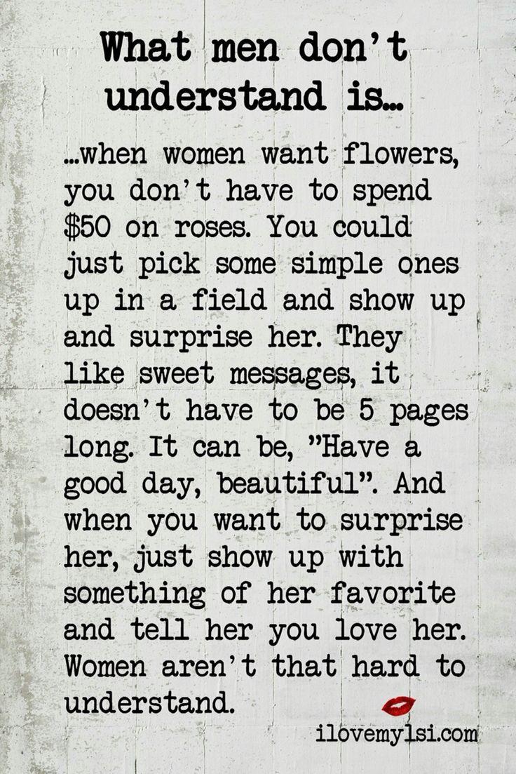 What men don t understand