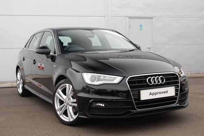 Black  Audi A3 Sportback