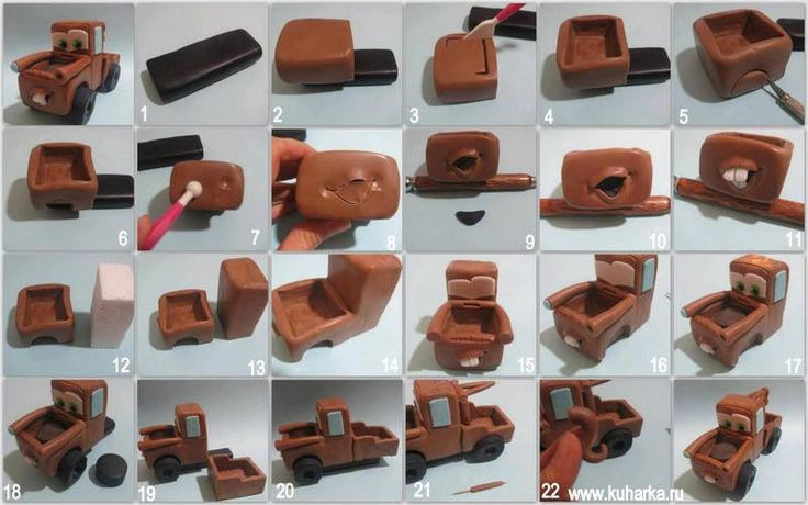 ❀❀Love this pictorial! ❀❀ Much easier than covering a whole cake, I can imagine using a rectangle sponge cake instead of polystyrene( shown in pic.12)to make it 100% edible. Found this pictorial here→ www.kuharka.ru