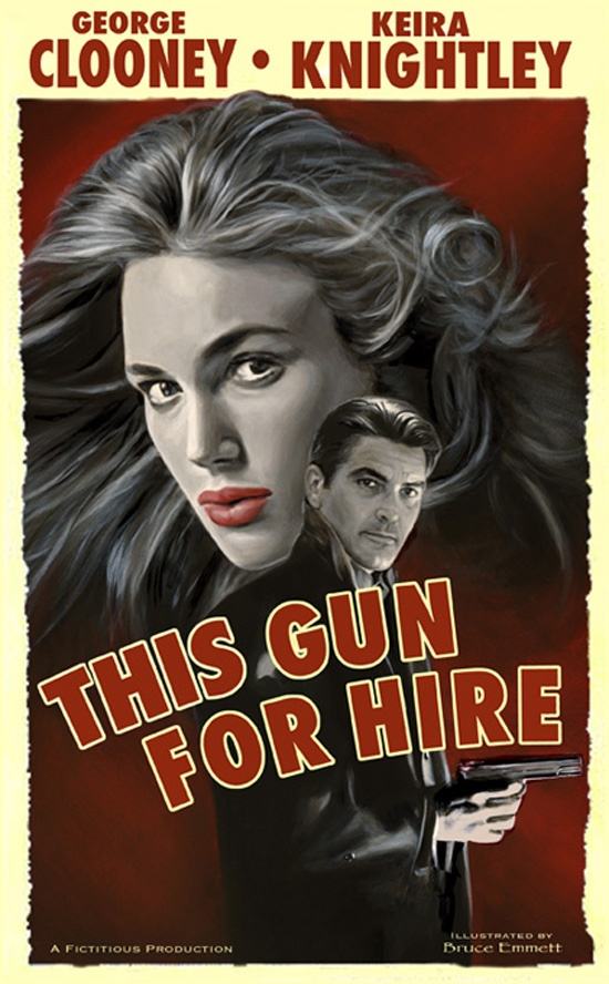 This Gun for Hire - Vintage Movie Poster