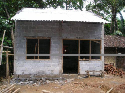 VJM built 44 Permanat houses for Jogjakrta  and central Jawa Earthquake victims