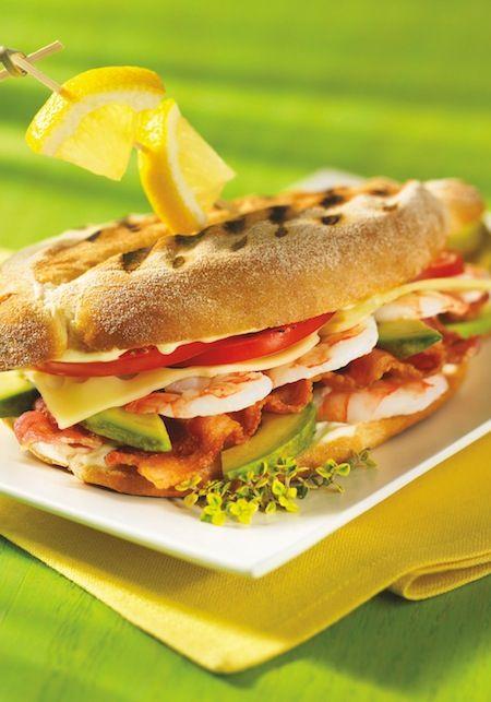 Shrimp Club #Panini #recipe