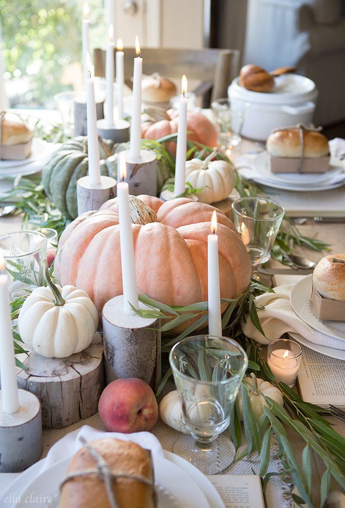 Fall Tablescape | Farmhouse Holiday Series