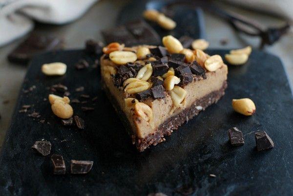 Vegansk snickerskaka, no bake | Start - Baka Sockerfritt | Bloglovin'