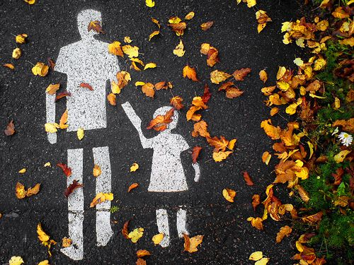 Autumn walk. Helsinki, Finland