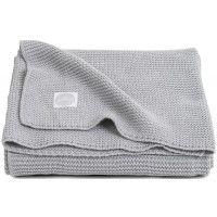 Jollein Basic Knit Light Grey 100x150 cm Ledikantdeken 516-522-65105