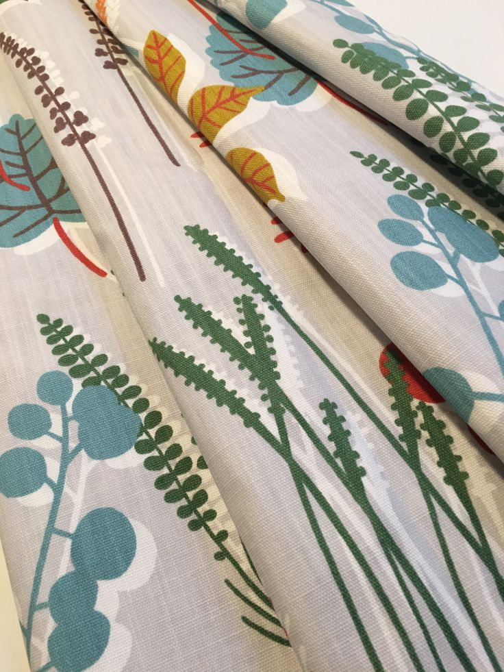 Scandinavian Curtains Made to Measure Curtains Floral