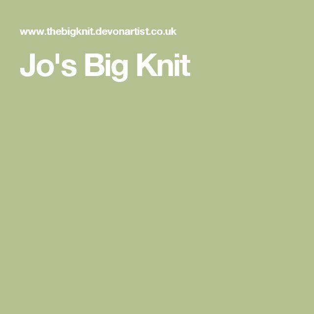 Jo's Big Knit