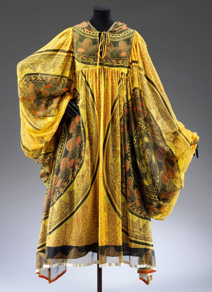 Zandra rhodes necklace tunic dress