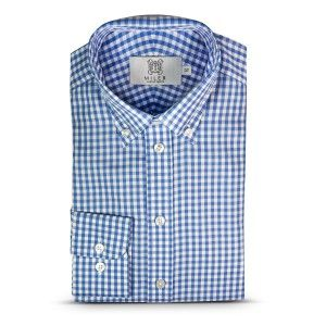 Vichy Check Shirt by MILER Luxury Shirts