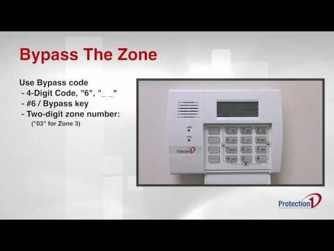 How to Bypass a Zone on Your Alarm System | Protection 1