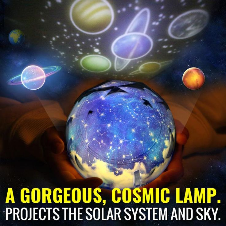 Universe Night Light Projector Lamp