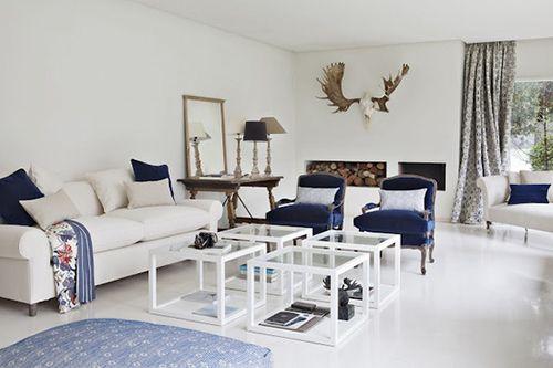 Las telas ka international tendencias azul y blanco el - Ka international telas ...