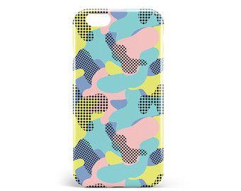 Coque Camouflage | PVC | iPhone 4, 4S, 5, 5S, SE, 5C, 6, 6s, 6 Plus, 6s Plus, 7 et 7 Plus, illustration, design, camo, pop, artmars, art