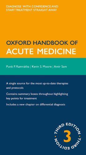 Oxford Handbook of Acute Medicine 3rd Edition
