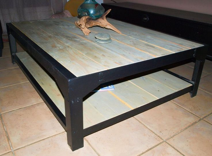 1000 ideas about table basse acier on pinterest mobilier acrylique weldin - Table basse acrylique ...