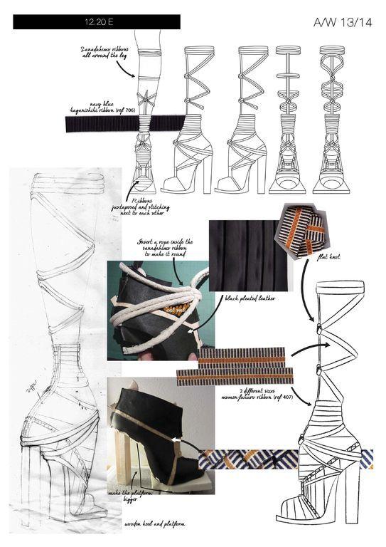 Modeconnect.com - Fashion footwear portfolio by Geraldine Delemme