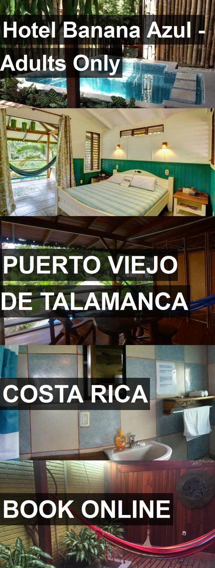 Hotel Hotel Banana Azul - Adults Only in Puerto Viejo de Talamanca, Costa Rica. For more information, photos, reviews and best prices please follow the link. #CostaRica #PuertoViejodeTalamanca #hotel #travel #vacation