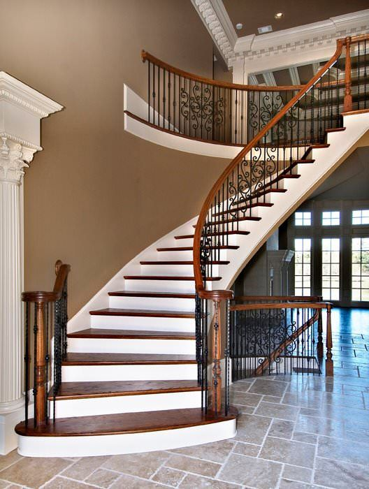 Decorating Foyer With Stairs : Decorate your staircase using these amazing railings