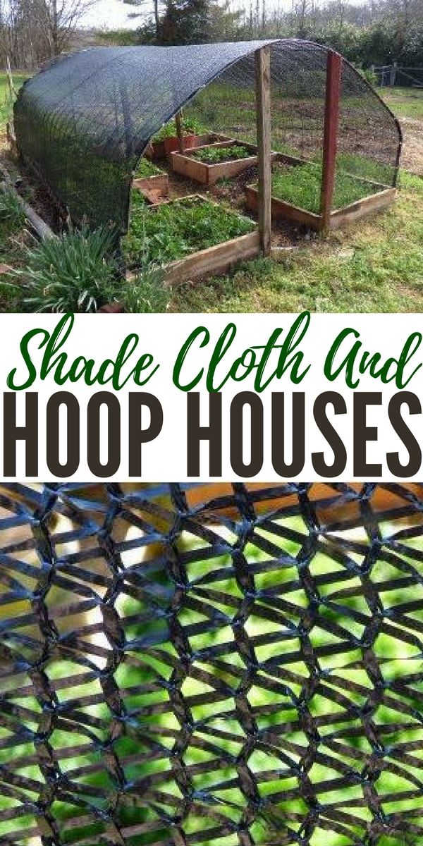 """Shade Cloth and Hoop Houses - There are so many trains of thought when it comes to gardening. Its very easy to """"geek out"""" over very little things when it comes to your garden."""