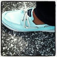 Tiffany blue sperrys