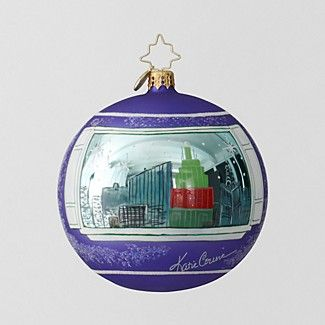 Christopher Radko Child Mind Institute 2013 Katie Couric Ornament | Bloomingdale's