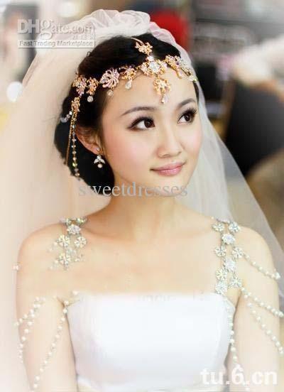 Crystal dress straps